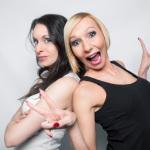Stephanie & Ela J. // Seriously crazy