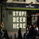 Stop! Beer here! (Nahe Tower Bridge)