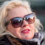 Bianne the sunny girl in winter