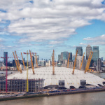 London: The o2 // Skyline