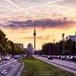 Frankfurter Allee Sunset