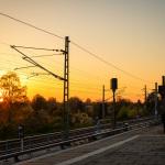 Sonnenuntergang S-Bhf. Plänterwald
