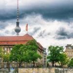 Schlechtwetter am Märkischen Ufer