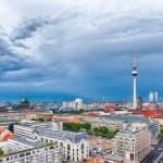 Gewitter am Tage, 12.06.2019 in Berlin