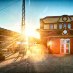 Rostock Hauptbahnhof HDR