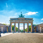 Brandenburger Tor ohne Touristen