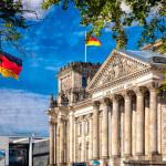 Reichstag von der Seite