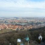 115 View from the Petřínská rozhledna (Petřín Lookout Tower)