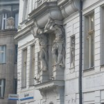 199 Statues holding the Building (Photo made out of the tram)