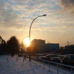 Sonnenaufgang Holzmarktstr.