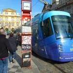 150 Tram - Škoda 14T with Advertisement