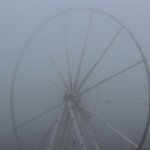 Nebel, 15.11.2012 (Riesenrad am Morgen)