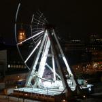 Riesenrad wird abgebaut