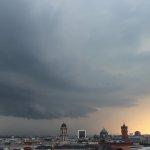 Shelfcloud über Berlin
