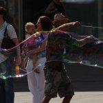 Seifenblasenkunst