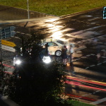 Unfall: Kleinwagen in Taxi geknallt