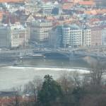 117 View from the Petřínská rozhledna (Petřín Lookout Tower)