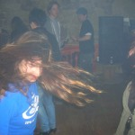 Yvonne+Pam Headbanging