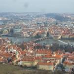 114 View from the Petřínská rozhledna (Petřín Lookout Tower)