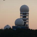 Altes Radargebäude der Amis