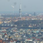 111 View from the Petřínská rozhledna (Petřín Lookout Tower)