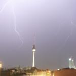 Blitze über Berlin