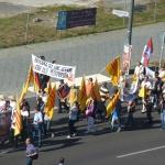 Demonstration gegen Beziehungen Vietnams zu China