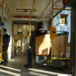 142 Tram - Tatra KT8D5 - Inside