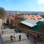 059 Stairs to the Pražský hrad (Prague Castle, Prager Burg)