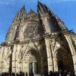 077 Katedrála svatého Víta (St. Vitus Cathedral - Veitsdom) - Panorama