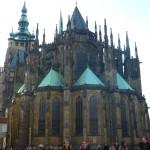 093 Katedrála svatého Víta (St. Vitus Cathedral - Veitsdom) - back