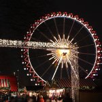 Riesenrad am Roten Rathaus - Berliner Weihnachtszeit