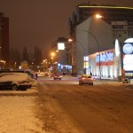 Holzmarktstr. im Schnee