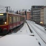 S-Bahn im Schnee!
