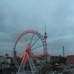 Sonnenaufgang am 3. Dezember 2012