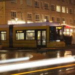 Bombardier Flexity F8E (8019) mit Traffic Trails