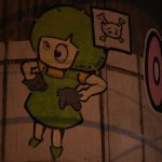 Street Art - Little Lucy