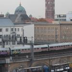 Dänischer ICE-Zug mit Graffiti