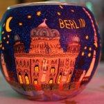 Berlin-Kerzenglas