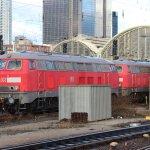 DB Lok 218 837-3, Frankfurt Hauptbahnhof