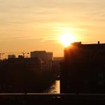 Sonnenuntergang - 31.10.2012