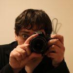 Langeweile im Hotel. Crazy Photographer Guy.