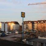 Aussicht Hotel Astra - Sonnenaufgang