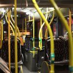 BVG-Bus von innen