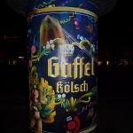 Gaffel Kölsch Karnevals-Werbung