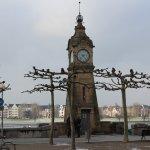 Historische Pegeluhr am Burgplatz / Düsseldorf