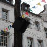 Lautsprecher in der Altstadt
