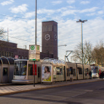 Straßenbahnhaltestelle am Hauptbahnhof