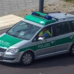 Polizei-VW