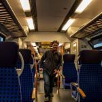 Thomas in einem Talent2-Zug